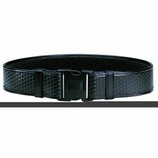 Bianchi Duty Belt Basket Weave Black Finish Medium 34 40