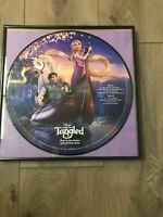 Disney Tangled record in picture frame