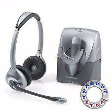 Plantronics SupraPlus CS361N/A sans fil casque sans fil-Inc TVA et garantie
