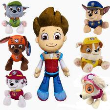 7pcs Paw Patrol Marshall Skye Rubble Chase Plush Doll Pups Dog Soft Stuffed Toy