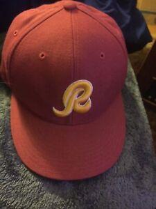 Washington Redskins Reebok Hat Old School R Logo Hat New Without Tags NWOT