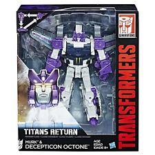 Transformers Generations Titans Return Decepticon Octone and Murk