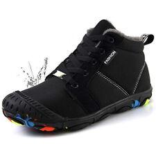 Kids Boys Girls Mid Calf Knee Waterproof Winter Snow Boots