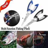 Tool Hook Removers Stainless Steel Scissor Fishing Pliers Bait Line Cutter