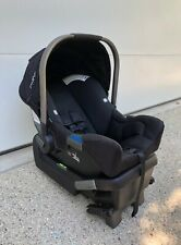 Nuna Pipa Lite Infant Car Seat - Caviar/Black - With Base