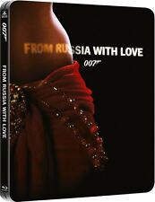 From Russia With Love Limited Edition SteelBook 007 [Blu-ray + Digital] NEW