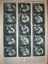 Article British Kinematograph Society Gaumont Theatre 1st infra-red film 1933