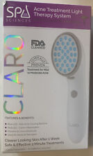 Spa Sciences Claro Led Red & Blue Acne Treatment Light Therapy System, New