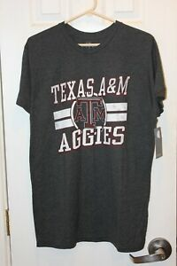 gray Texas A&M Aggies distressed graphic t-shirt (NWT) - adult large / L