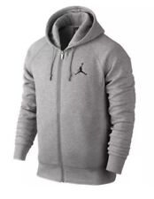 Mens Air Jordan Jumpman Full-Zip Hoodie 845861-063 Grey Brand New Size 2XL