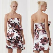 Keepsake the Label Awake Bustier in Collage Floral Size Small