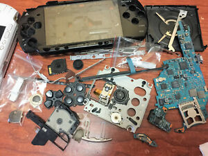OEM Playstation PSP 2000 Replacement Parts Motherboard Buttons Case