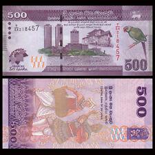 Sri Lanka 500 Rupees, 2013, P-129, COMM. UNC