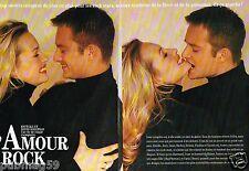 Coupure de Presse Clipping 1993 (4 pages) David et Estelle Hallyday