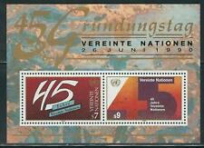 United Nations Vienna Austria -  Beautiful MNH Souvenir Sheet #105.......A 7 04