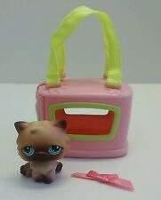 Littlest Pet Shop #22 Persian Kitten Cat Portable Pets Carrier Accessory