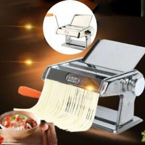 Nudelmaschine Edelstahl Pasta Pastamaschine Pastamaker Nudeln Lasagne Presse