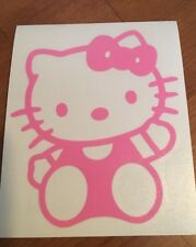 Hello Kitty Wall Decal Decor Pink Car Window Sticker