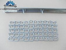 VOLVO AMAZON 121 122  PV 544 TRIM CLIPS 50PCS STAINLESS STEEL!!