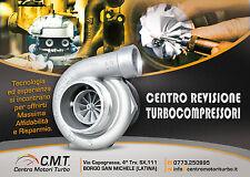 TURBINA REVISIONATA PER ALFA ROMEO 166,LANCIA THESIS 2.4 129 KW 2 ANNI GARANZIA