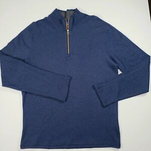 Robert Graham Mens Pullover Sweatshirt Sweater - Navy Blue [Size M] $198 MSRP