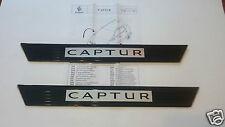 PAIRE SEUILS DE PORTE RENAULT CAPTUR ORIGINAL PAIR DOOR SILL PLATES 8201401380