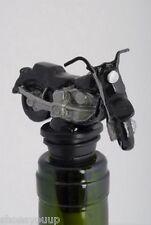 Motor Bike Wine Saver / Bottle Stopper / Novelty Cake Decoration + Gift Box