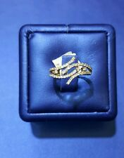 Diamond Ring in 18k with certified diamonds