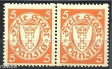 Danzica 5 PFG. STEMMA 1935 ** ruolo Waag. COPPIA (s4116)