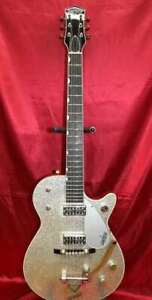 Gretsch G6129T-59 Silver Jet Guitar Sparkle Bigsby Made in Japan w/Hardcase