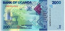 Uganda 2000 chelines 2010 Pick 50 como nuevo UNC