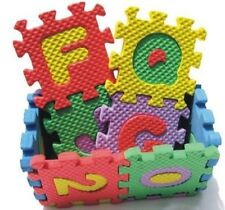 36 pcs Interlocking Puzzle Kid Educational Toy Alphabet A-Z Letters Numeral Foam