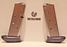 For Sig Sauer (2) P238 .380 7 Rnd Extended Mags (Metalform) 380793Sse Free-Ship