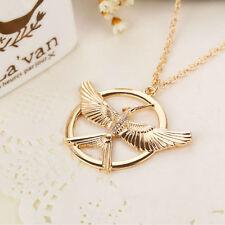 RF The Hunger Games Mockingjay GOLDEN Color Pendant Necklace