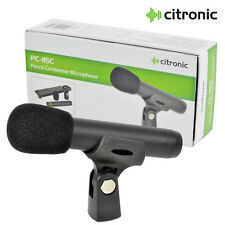 Citronic Pc-115c Condenser Instrument Pencil Microphone Overhead Hi-hat String