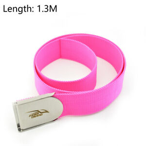 KEEP DIVING 1.3m/1.5m Plastic Diving Weight Belt with Stainless Steel Buckle PET