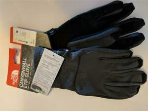 The North Face Canyonwall ETIP Fleece Gloves Ski Rated Cool S/M/L Dk Gray