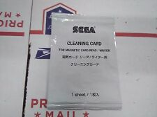 sega initial d arcade card reader cleaner card