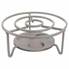 ORION Rechaud / Stövchen aus Metall für FONDUETOPF 3 x Teelichter