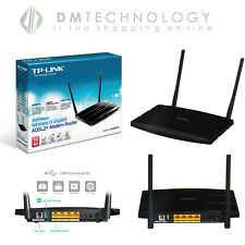 MODEM ROUTER TP-LINK TD-W8970 300MBPS WI-FI WIRELESS ADSL2+ GIGABIT ACCESS POINT