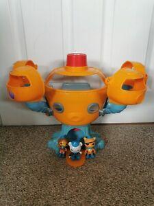Octonauts Octopod Playset toy 3 Figures