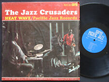 THE JAZZ CRUSADERS Heat Wave LP PACIFIC JAZZ RECORDS PJ-76 US 1963 STEREO