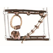 Hamster Gerbil Mouse Rat Pet Excerise Toy Home Habitat Hanging Bridge Playground