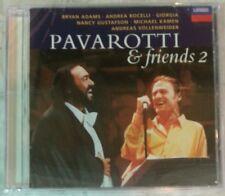 """PAVAROTTI & FRIENDS 2 by PAVAROTTI (CD, 1995 - USA - Decca) BRAND NEW, """"SEALED"""""""