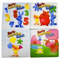 Buntes Badebuch Early learning Book Buch Baby Babybuch Spielzeug Badewanne