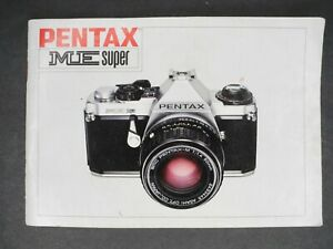 Pentax ME Super 1984 Camera Instruction Manual / User Guide