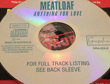 Meat Loaf I'd Do Anything For Love (But I Won't Do That) Aust Live CD Super Rare