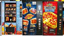 New Set of 3 Vending Machine(KOSHER,PIZZA,FROZEN FOODS) 1:43 Scale Diorama