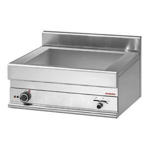 modular 650 Bain-Marie Gastronorm Behälter 3000W 230V 700x650x280