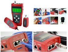 Testeur Professionnel Pour Réseau RJ45 RJ11 USB BNC